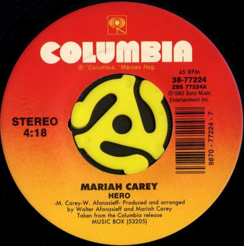 Mariah Carey / Hero(Columbia/4...