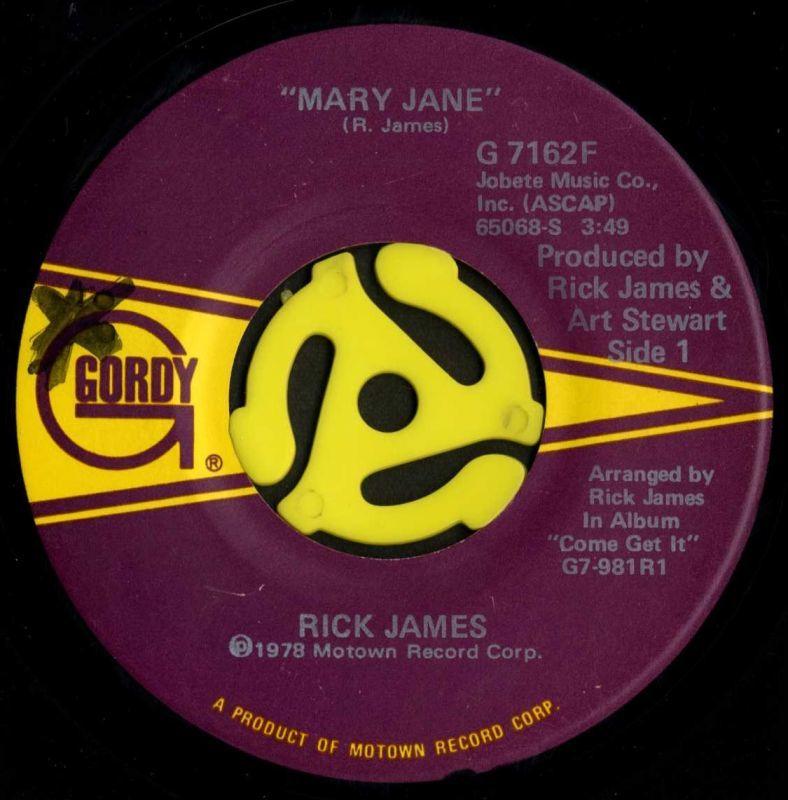Rick James / Mary Jane(Gordy/4...