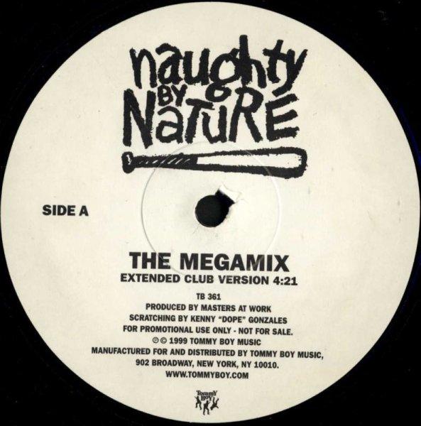 """画像1: Naughty By Nature / The Megamix(Tommy Boy / プロモ12"""") (1)"""