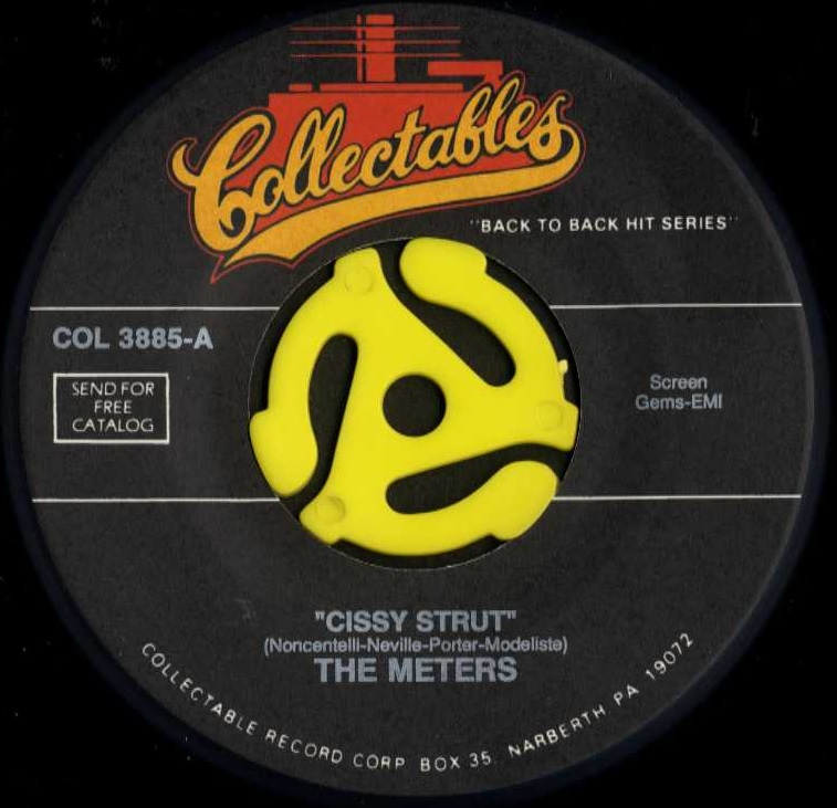 THE METERS/CISSY STRUT(COLLECT...