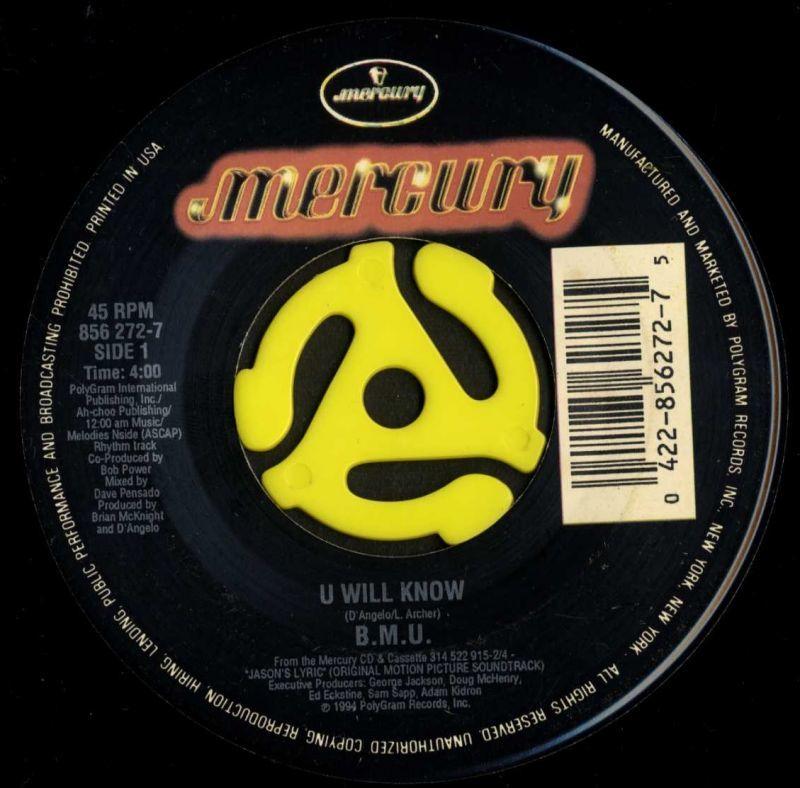 ☆B.M.U. / U Will Know(Mercury/...